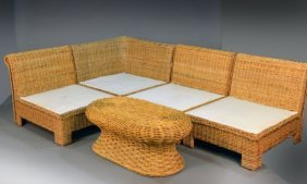 Group Of Rattan Furniture