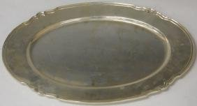 SHREVE AND COMPANY STERLING SILVER PLATTER