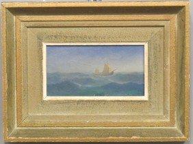 "KARL GUSTOV HOLMBERG, O/B Maritime Scene Sight: 3"""