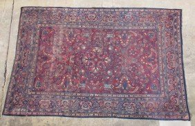ROOMSIZE PERSIAN CARPET Early 20th Century