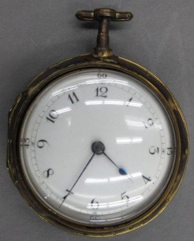 JOHN HARDY LONDON FUSEE POCKET WATCH Circa 18th