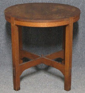 L & JG STICKLEY CENTER TABLE