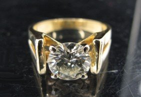 14KT DIAMOND RING 2.44 CT