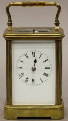 FRENCH CARRIAGE REPEATER CLOCK Circa Late 19th Centu