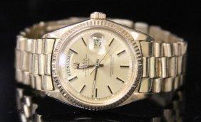 Presidential 18kt Men's Rolex Wristwatch