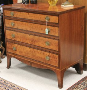 Early 19th Century American Sheraton Dresser