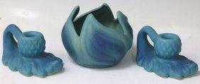 Lot Of (3) Van Briggle Art Pottery