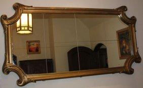 Antique Gesso Wall Mirror