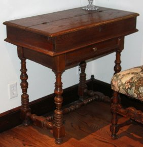Late 19th Century Writing Desk & Chair
