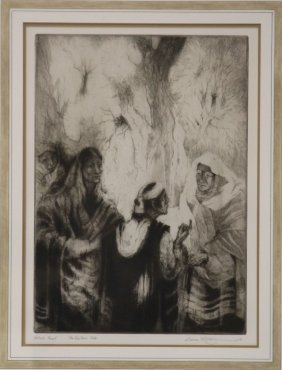 Gene Kloss, Drypoint- The Visitor's Tale