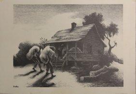 Thomas Hart Benton, Lithograph- Pencil Signed