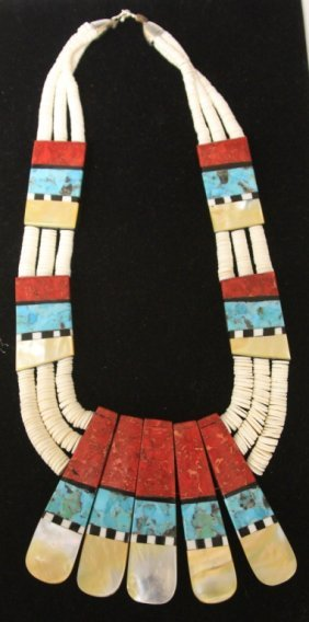 Santo Domingo Modern Necklace, Reversible