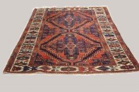 Antique Tribal Woven Carpet