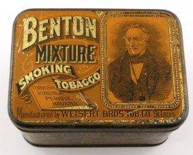 Benton Mixture Smoking Tobacco Tin