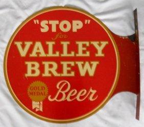 Valley Brew Beer Flange Sign