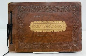 Vintage World War Ii Photo Album Compiled By U.s. Army