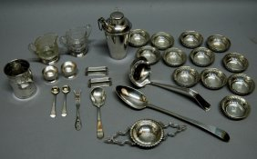 Sterling Silver Group; 27 Pieces