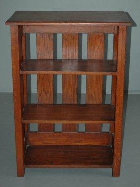 Arts And Crafts Bookshelf