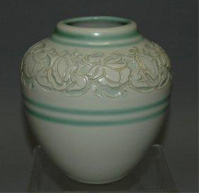 North Dakota School Of Mines Pottery Vase