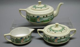 Pickard Hand Painted China- Tea Set
