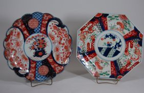 Two Imari Chargers, Late 19th Century
