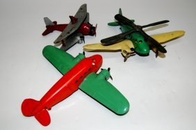 Group Of 3 Toy Airplanes
