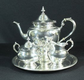 Gorham 4 Piece Sterling Tea Set