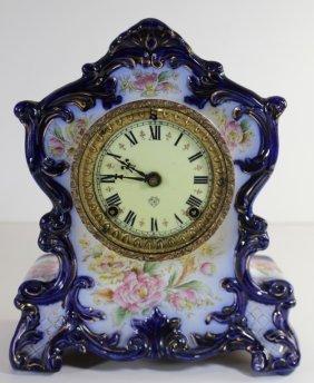 Royal Bonn/ Ansonia Porcelain Clock