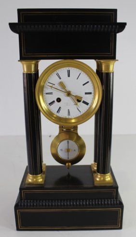 French Mantle Clock, C. 1900