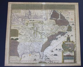 Nicholas De Fer, Engraved Map