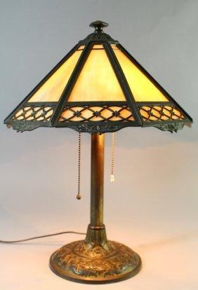 Bradley & Hubbard Panel Lamp