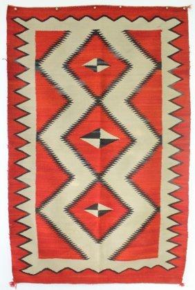 Late Transitional Ganado Navajo Blanket