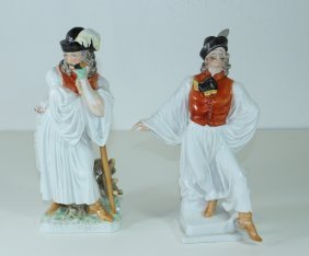 Herend, Hungary, Porcelain Figurines