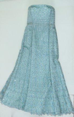 Escada Couture Beaded Ball Gown