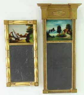 Two American Federal Period Mirrors