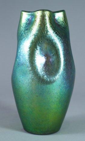 Rare Loetz Crete Cisele Vase
