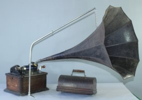 Edison Phonograph Cylinder Player