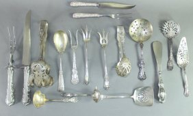 Sterling Silver Group 17 Pieces
