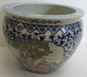 20th C. Oriental Fish Bowl