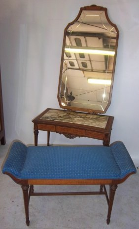 C1900 3 Piece Marbletop Vanity