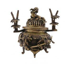 Nineteenth-century Bronze Koro Censer