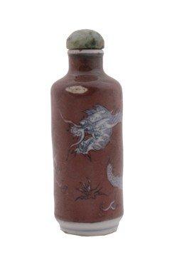 Nineteenth-century Cylindrical Snuff Bottle