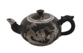 Yixing And Silver Tea Pot
