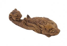 Chinese Composite Brush Rest