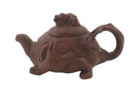 Chinese Ceramic Tortoise Tea Pot