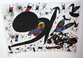"MIRO ""HOMAGE TO JOAN PRATTS"" LIMITED EDITION"