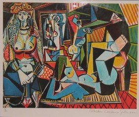 "PICASSO ""COUPLE RELAXING"" LTD EDITION"