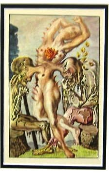 DALI ANTIQUE LITHOGRAPH (1947)