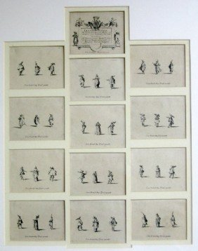 "JACQUES CALLOT ""LES FANTASIES"" SUITE OF 12 ETCH"