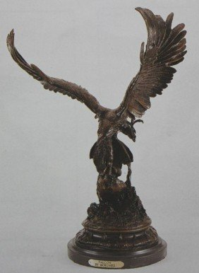 """FALCON"" BRONZE SCULPTURE - MOIGNIEZ"
